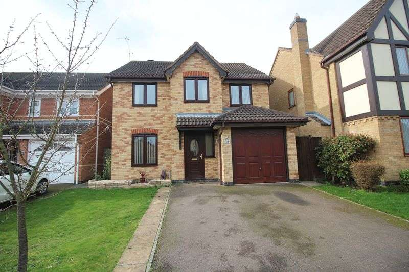 4 Bedrooms House for sale in Lake Way, Stukeley Meadows, Huntingdon, Cambridgeshire.