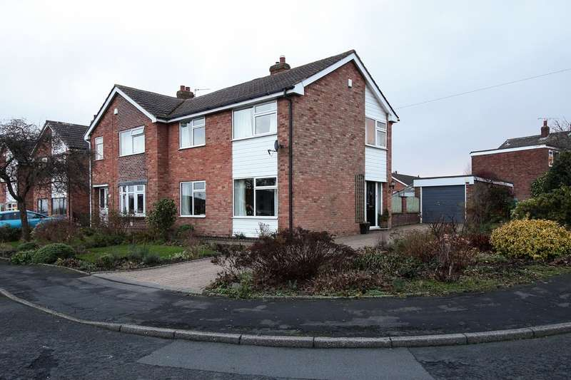 3 Bedrooms Semi Detached House for sale in Overdale Road, Romiley, Stockport