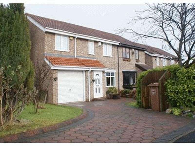 4 Bedrooms Semi Detached House for sale in Fieldfare Close, Washington