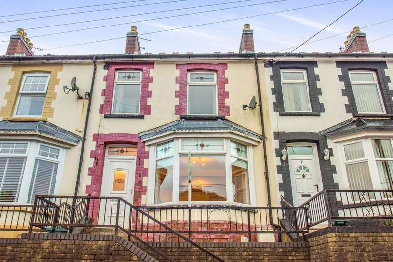 3 Bedrooms Terraced House for sale in Harcourt Terrace, Brithdir, New Tredegar