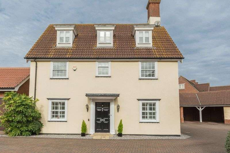 4 Bedrooms Detached House for sale in Clunford Place, Beaulieu Park, Chelmsford