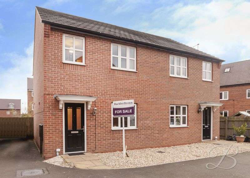3 Bedrooms Semi Detached House for sale in Blackshale Road, Mansfield