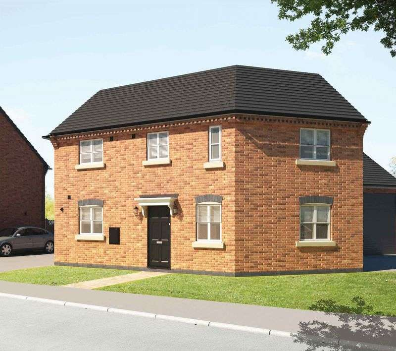 3 Bedrooms Semi Detached House for sale in Plot 16 The Redcar, Burfield Walk, Lincoln, LN6 9US