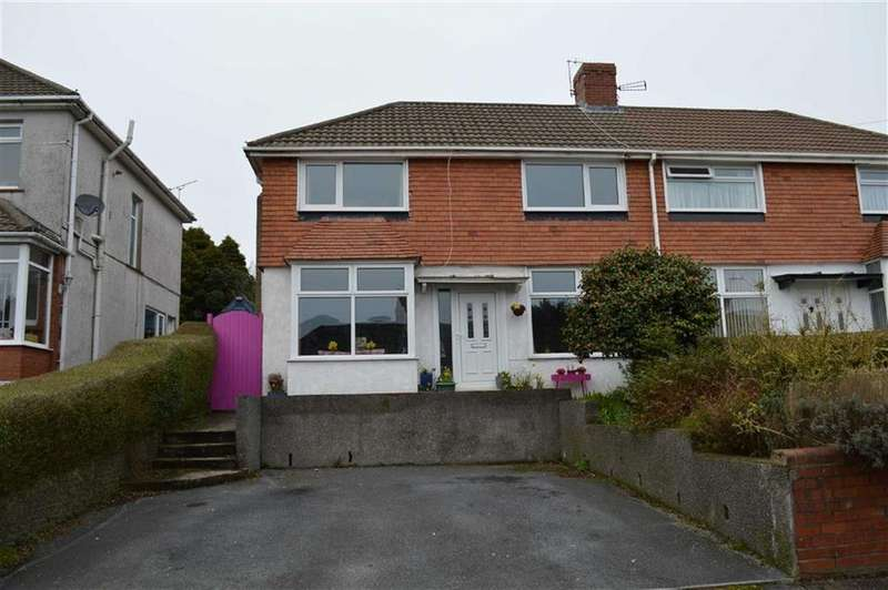 4 Bedrooms Semi Detached House for sale in Lon Mefus, Swansea, SA2