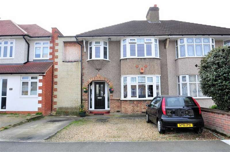 3 Bedrooms Semi Detached House for sale in Barrington Road, Bexleyheath