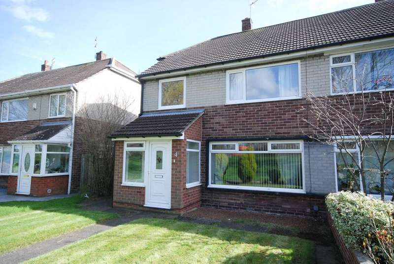 3 Bedrooms Semi Detached House for sale in The Willows, Hebburn