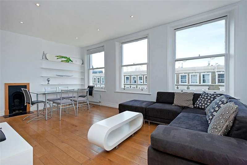 2 Bedrooms Flat for sale in Longridge Road, Earls Court, London