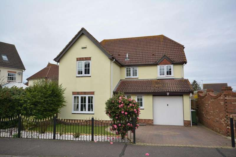 5 Bedrooms Detached House for sale in Broadoaks Crescent, Braintree, Essex, CM7