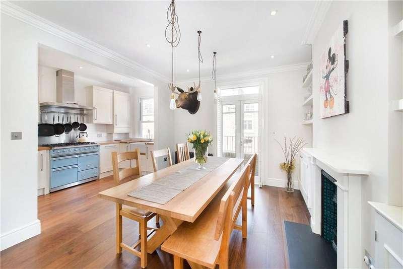 3 Bedrooms Maisonette Flat for sale in Crookham Road, Fulham, London, SW6