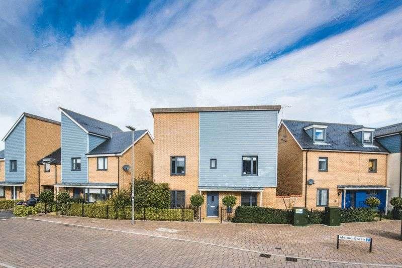 4 Bedrooms Detached House for sale in Merino Green, Oakridge Park, Milton Keynes