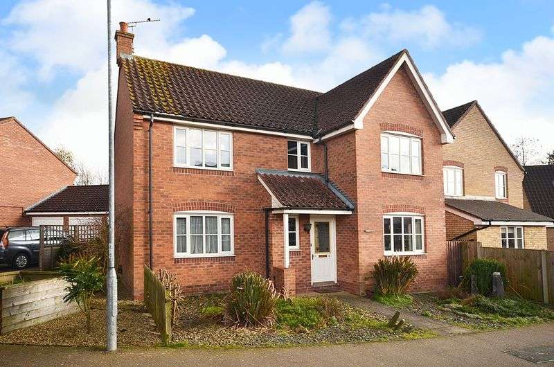 4 Bedrooms Detached House for sale in Rackheath, Norwich