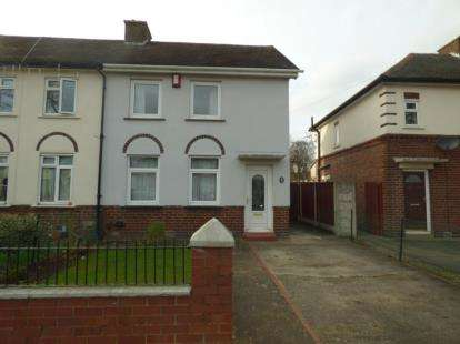2 Bedrooms Semi Detached House for sale in Rene Road, Tamworth, Staffordshire