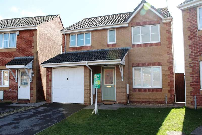 4 Bedrooms Detached House for sale in Hind Close, Pengham Green, Cardiff