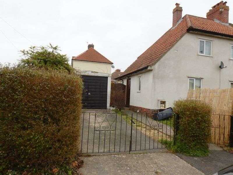 3 Bedrooms Semi Detached House for sale in Crossways Road, Knwle Park, Bristol