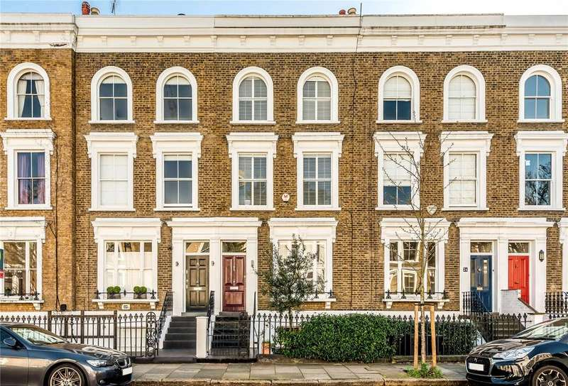 4 Bedrooms Terraced House for sale in Ockendon Road, Islington, London, N1