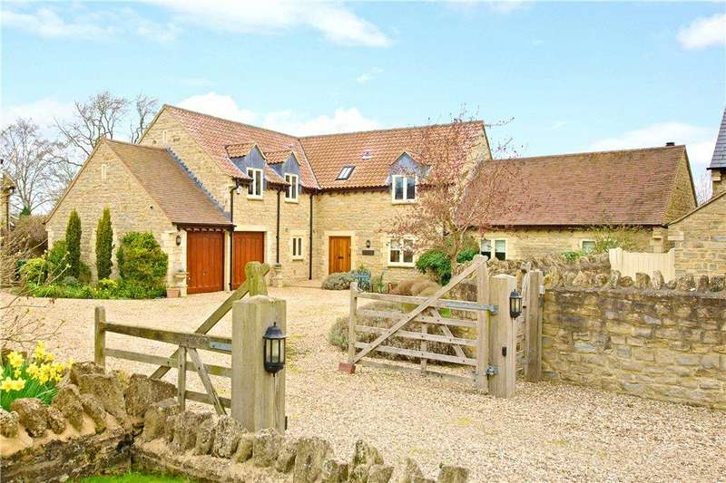 4 Bedrooms Barn Conversion Character Property for sale in The Rickyard, Newton Blossomville, Buckinghamshire