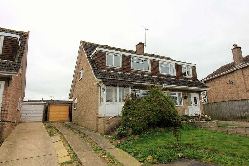 3 Bedrooms Semi Detached House for sale in Herne Rise, Ilminster