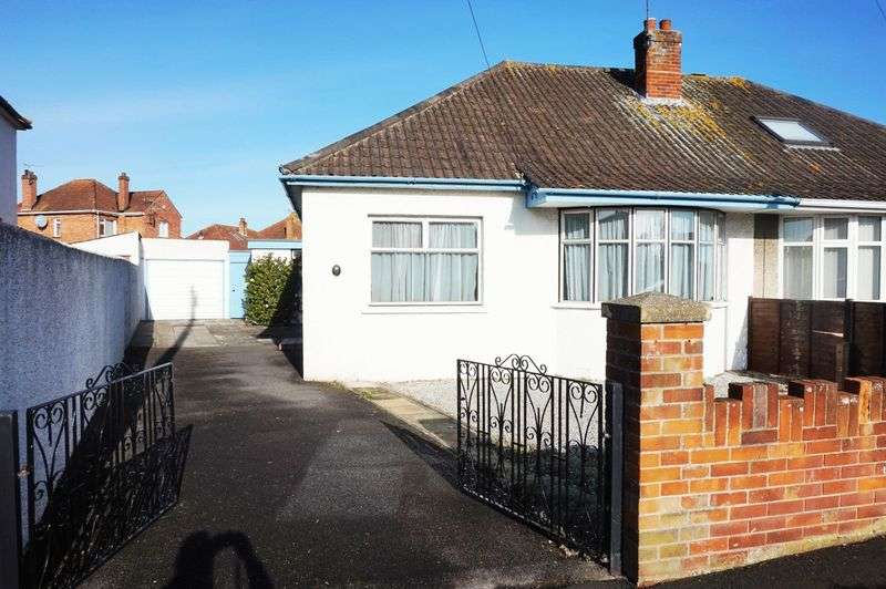 2 Bedrooms Semi Detached Bungalow for sale in Eastwick Road, Taunton