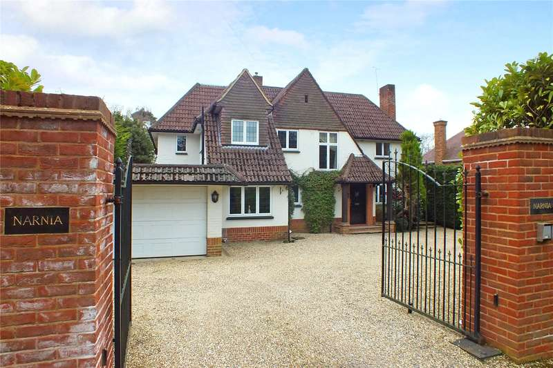 5 Bedrooms Detached House for sale in Park Avenue, Camberley, Surrey, GU15