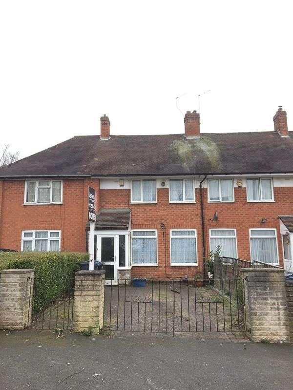 2 Bedrooms Terraced House for sale in Elderfield Road, Kings Norton, Birmingham