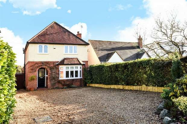 3 Bedrooms Detached House for sale in Watmore Lane, WINNERSH, Berkshire