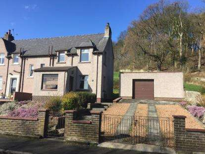 2 Bedrooms End Of Terrace House for sale in Northall Road, Markinch