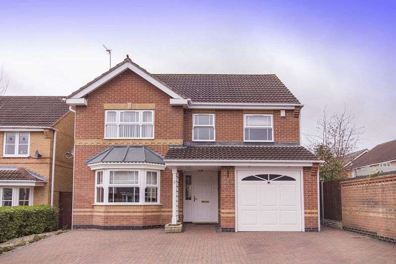4 Bedrooms Detached House for sale in KELVEDON DRIVE, LITTLEOVER