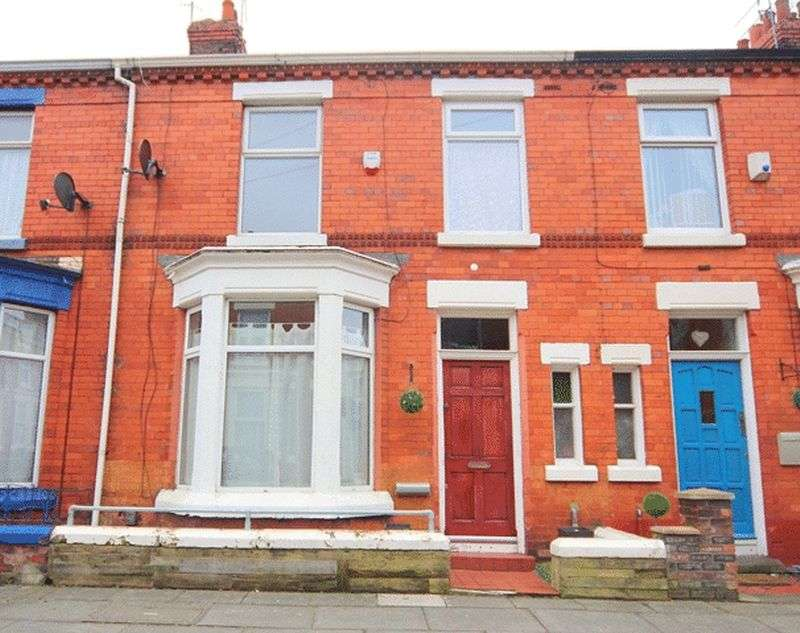 3 Bedrooms Terraced House for sale in Glenfield Road, Wavertree, Liverpool, L15