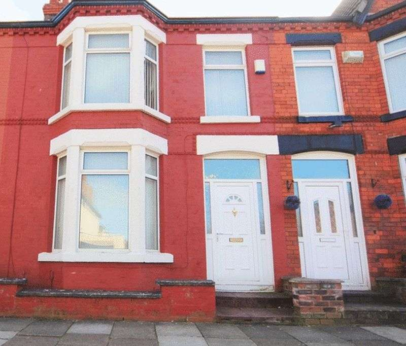 3 Bedrooms Terraced House for sale in Gorsedale Road, Mossley Hill, Liverpool, L18