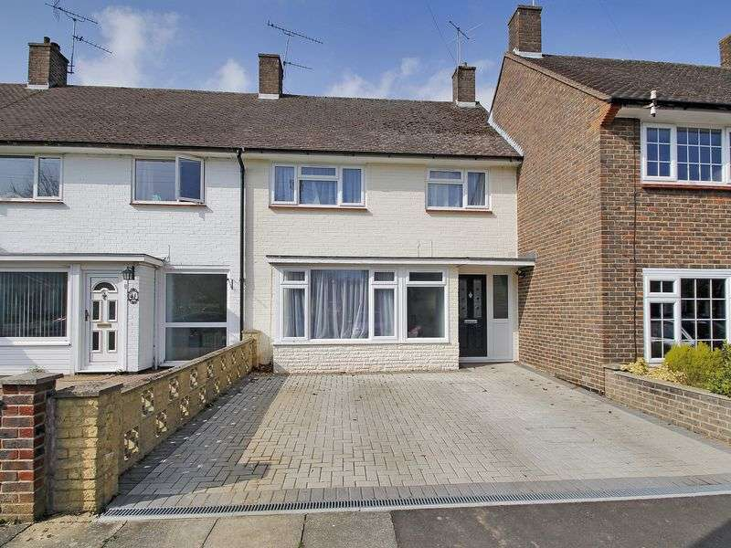 3 Bedrooms Terraced House for sale in Durham Close, Tilgate, Crawley, West Sussex