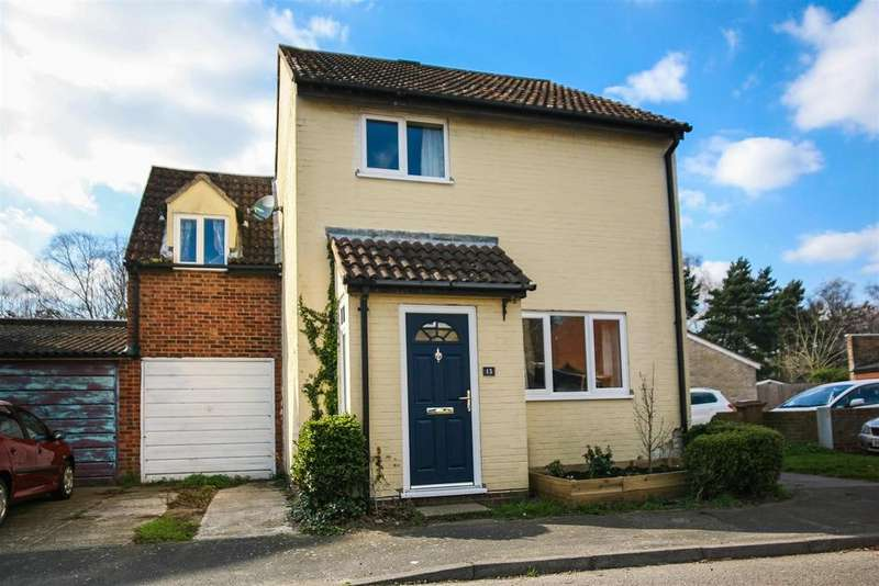 4 Bedrooms Link Detached House for sale in Coopers Road, Martlesham Heath, Ipswich