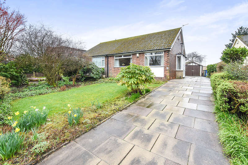 2 Bedrooms Semi Detached Bungalow for sale in Radcliffe Moor Road, Radcliffe, Manchester, M26