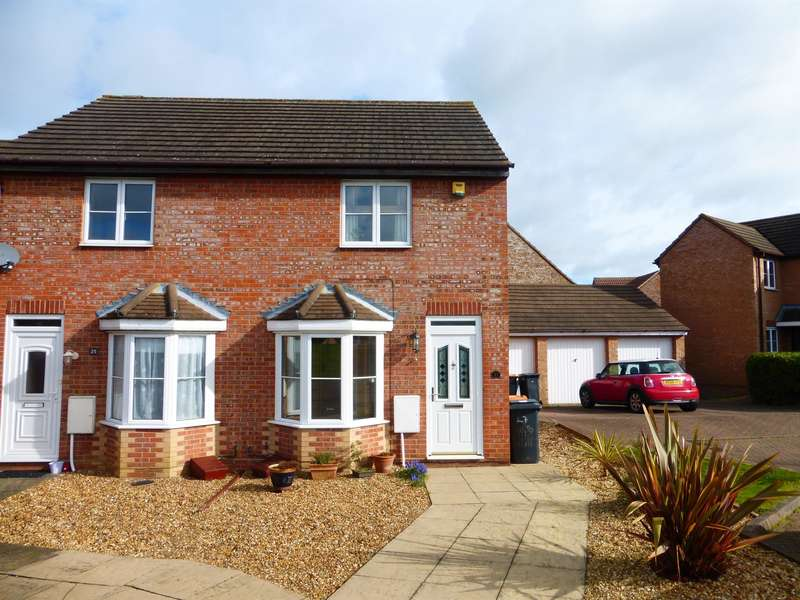 2 Bedrooms End Of Terrace House for sale in Odin Close, BEDFORD, MK41