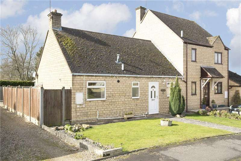 2 Bedrooms Semi Detached Bungalow for sale in Field Lane, Willersey, Nr Broadway, Worcestershire, WR12