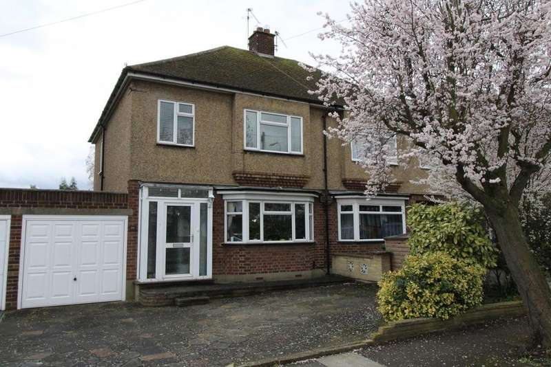 3 Bedrooms Semi Detached House for sale in Brookmans Close, Upminster, Essex, RM14