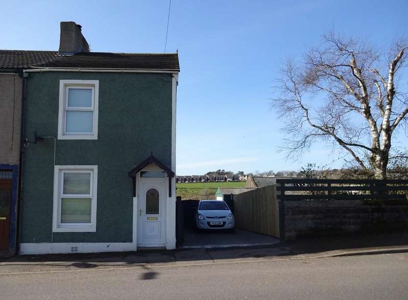 2 Bedrooms Semi Detached House for sale in Frizington Road, Frizington, Cumbria