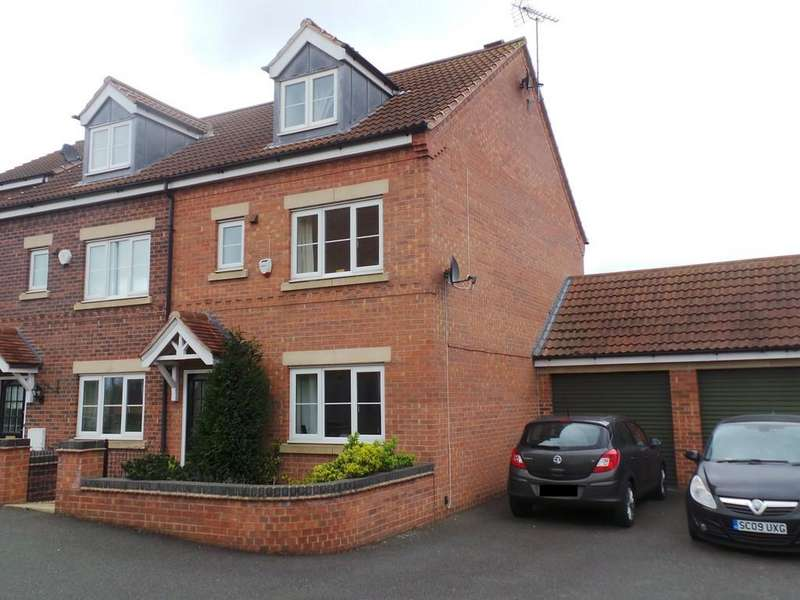 3 Bedrooms Town House for sale in Pippin Close, Misterton