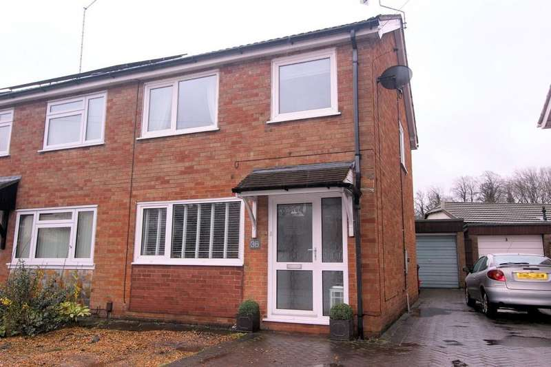 3 Bedrooms Semi Detached House for sale in Station Road, Hugglescote