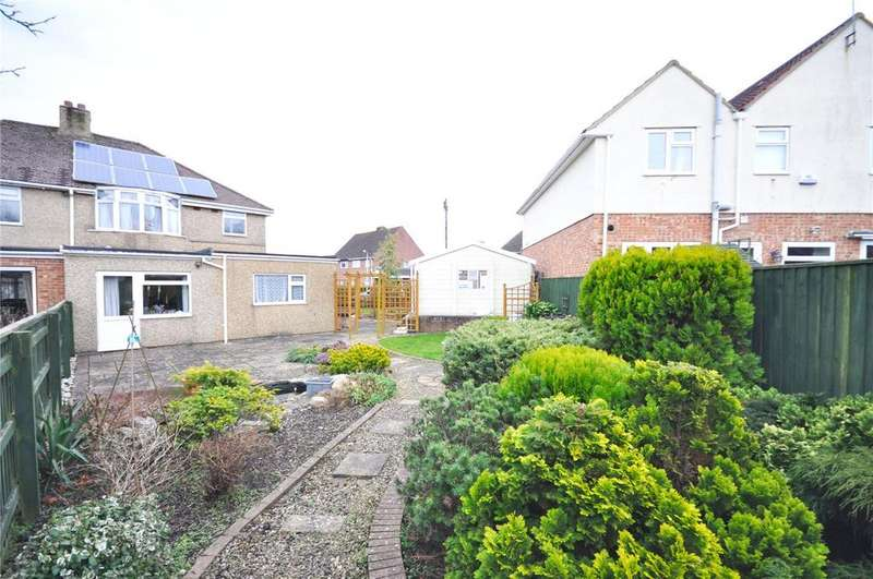 3 Bedrooms Semi Detached House for sale in Parklands Road, Old Walcot, Swindon, Wiltshire, SN3