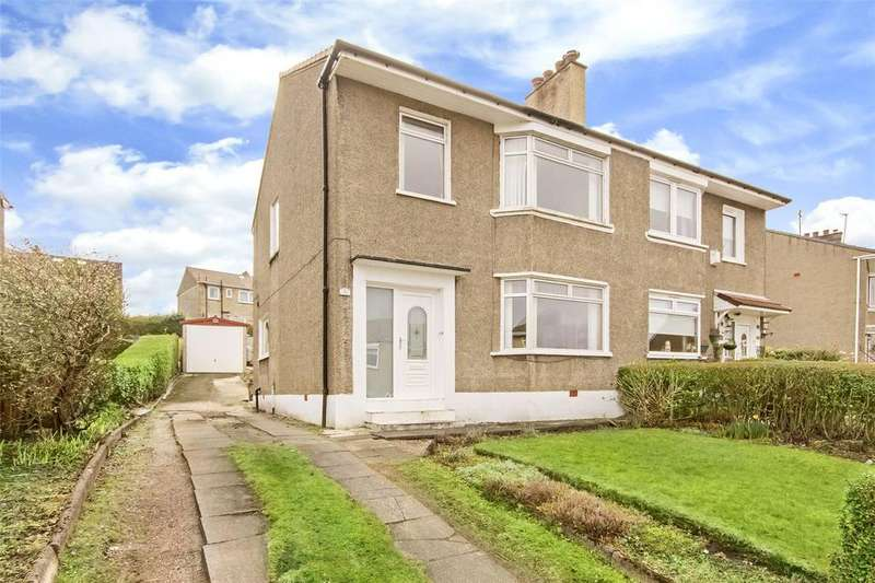 3 Bedrooms Semi Detached House for sale in 33 Lochinver Drive, Cathcart, Glasgow, G44