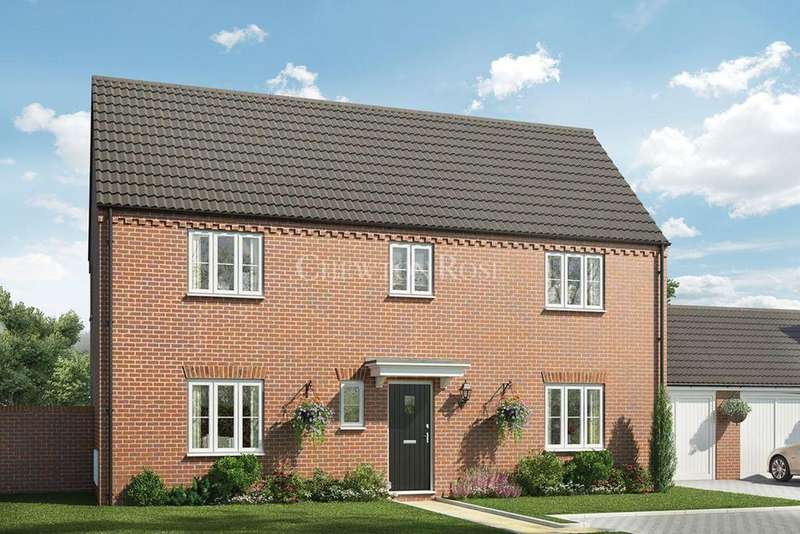 4 Bedrooms Detached House for sale in Plots 6 7 - Saxon Fields, Blofield