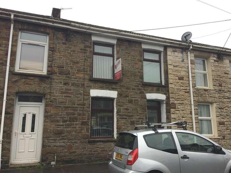 2 Bedrooms Terraced House for sale in High Street, Pontycymer, Bridgend