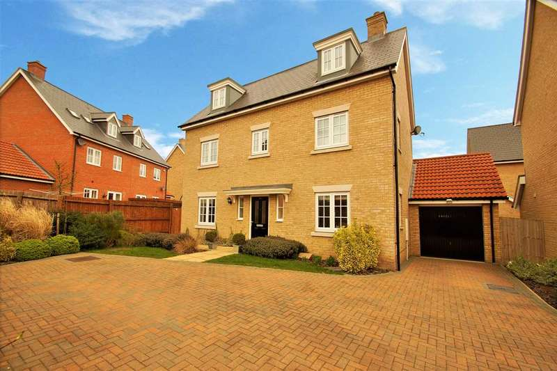 5 Bedrooms Town House for sale in Axial Drive, Colchester
