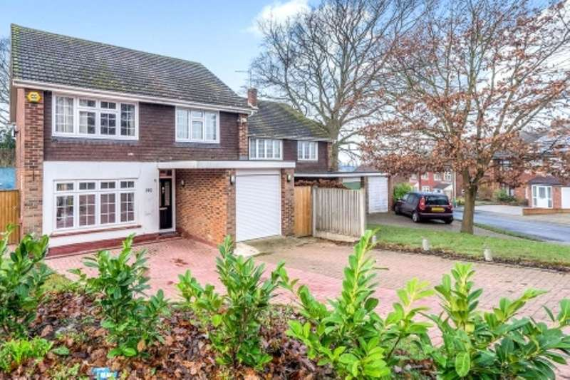 4 Bedrooms Detached House for sale in Lords Wood Lane, Chatham, ME5