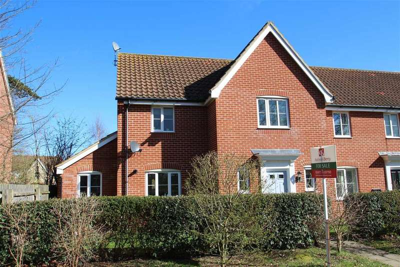 3 Bedrooms Semi Detached House for sale in Thomas Crescent, Grange Farm, Kesgrave, Ipswich