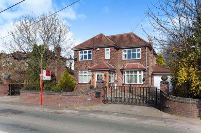 4 Bedrooms Detached House for sale in Glazebrook Lane, Glazebrook, Warrington, Cheshire