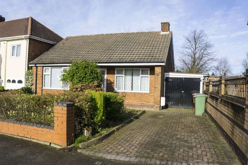 2 Bedrooms Detached Bungalow for sale in Castle Road, Walsall Wood, Walsall.