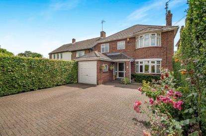 4 Bedrooms Detached House for sale in Oundle Road, Orton Longeville, Peterborough, Cambridgeshire
