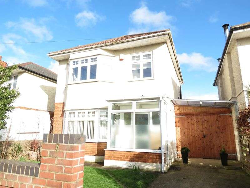 4 Bedrooms Detached House for sale in Shirley Road, Bournemouth