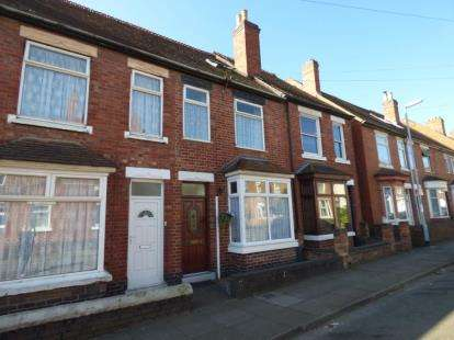 2 Bedrooms Terraced House for sale in Heath Street, Tamworth, Staffordshire